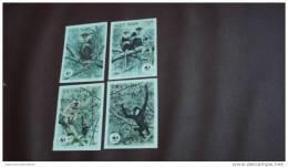 WWF W.W.F. Vietnam Viet Nam MNH Imperf Stamps 1987 : Monkey / Gibbon (Ms522) - Vietnam