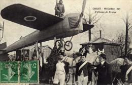Cholet...la Célebre Mi Carême Avec L Oiseau De France Théme Aviation Gendarmes Militaria - Cholet