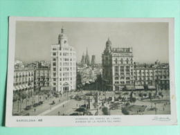 BARCELONA - Avinguida Del Portal De L'Angel - Barcelona