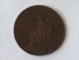 MEDAILLE QUI SE VEND DEUX SOLS A PARIS CHEZ MONNERON PATENTE 1792 LIBERTÉ SOUS LA LOI L AN IV - Monétaires / De Nécessité