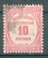 Collection FRANCE ; Taxes ; 1927-31 ; Y&T N° 56 ;  Oblitéré - Impuestos