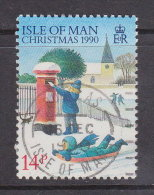 Großbritannien - ISLE OF MAN 1990 / Mi: 448  /  Königin Elisabeth II / GR 238 - 1952-.... (Elisabeth II.)