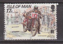 Großbritannien - ISLE OF MAN 1991 / Mi: 468  /  Königin Elisabeth II / GR 239 - 1952-.... (Elisabeth II.)