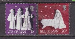 Großbritannien - ISLE OF MAN 1991 / Mi: 484,85 /  Königin Elisabeth II / GR 240 - 1952-.... (Elisabeth II.)