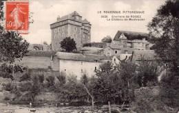 CPA,Le Rouergue Pittoresque, Environs De Rodez, Le Château De Montrozier - Rodez