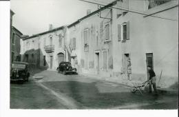 VERGEZE - Vue Partielle - La Rue (voiture Traction) - Petit Plan - Vergèze