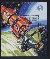 Vietnam Viet Nam MNH Perf Souvenir Sheet 1988 : Space Complex (Ms557B) - Vietnam
