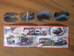 KINDER SURPRISE 2012 PORSCHE - N° TR044 - HOLOGRAMMES - AUTOCOLLANTS 3D + BPZ - Otros