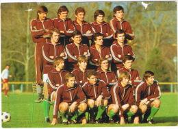 EQUIPE HONGRIE HUNGARY COUPE DU MONDE 1978  NOMS DES JOUEURS AU VERSO - Fútbol