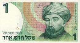 BILLET # ISRAEL # 1 NEW SHEKEL  # 1986 / PICK 51a # NEUF   # - Israel