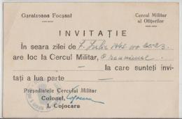 Romania - Focsani - 1943 - Reuniune A Ofiterilor La Cercul Militar - Other