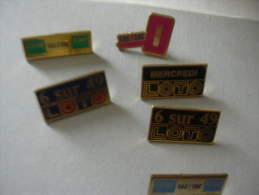 JEUX LOTO ECT 6 PINS - Jeux