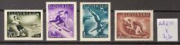 Slovaquie 108 à 111 * Côte 7.20 € - Unused Stamps
