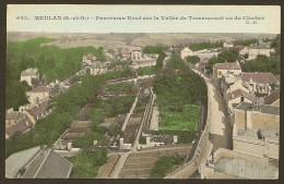 MEULAN Colorisée Panorama Nord Sur La Vallée De Tessancourt (CM) Yvelines (78) - Meulan