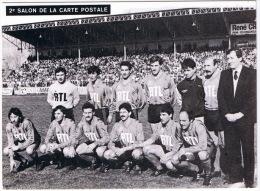 MATCH PONT SAINT ESPRIT CONTRE MARSEILLE COUPE DE FRANCE 1986  RARE NUMEROTEE VOIR VERSO - Calcio