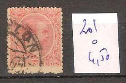 Espagne 201 Oblitéré Côte 4.50 € - 1889-1931 Regno: Alfonso XIII