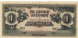 BILLET # MALAYSIE  # 1 DOLLAR  # OCCUPATION JAPONAISE # 1942 / PICK M5 C # CIRCULE  # - Malaysia