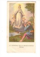 Nostra Signora Della Misericordia  ( Savona )  - Santino 1901 - Devotion Images