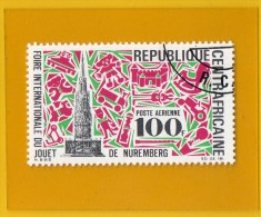 REP.  CENTRAFRICAINE ,, FOIRE  INTERNATIONALE  DU JOUET  ,,,, **  100 F.  *,, POSTE 1969 ,, NEUF//OB,, TBE - Central African Republic