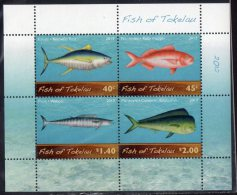Tokelau 2012 Fish MS MNH - Tokelau