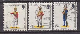 Großbritannien -GUERNSEY 1974 / Mi: 94,95,101 /  Königin Elisabeth II / GR 255 - 1952-.... (Elisabeth II.)