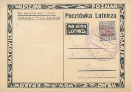 POLEN - 1934 , Katowice / Kattowitz Ausstellung - Covers & Documents