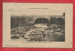 GUADELOUPE ILLUSTREE BASSE TERRE Le Pont De La Rivière Des Pères  édition Caillé 287 - Basse Terre