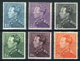 (B) 430/435 MNH** 1936 - Koning Leopold 3 - 1936-51 Poortman