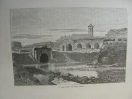 Hungary - Romania - Nagyvárad - Oradea - A Nagyváradi Vár   Ca 1891 Print 2.OM7.383 - Estampes & Gravures