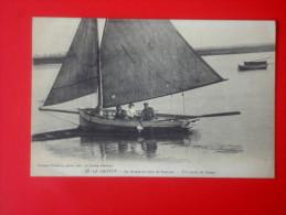LE CROTOY Chasse En Baie De Somme  Un Canot De Chasse Poidevin 37 - Le Crotoy
