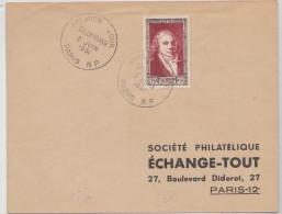 Lettre Premier Jour Talleyrand Le 22 Juin 1951 - 1921-1960: Modern Period
