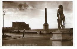 Napoli -  Castel Dell'Ovo E Monumento Ai Caduti - Napoli (Naples)
