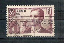 Obl. N°  418  La Radio Aux Aveugles  Côte:10€ à 15% - Gebraucht