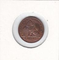 2 Centimes Cuivre Albert I 1911 FL - 1909-1934: Albert I