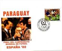 Paraguay 1982  - FDC - Coupe Du Monde