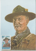 Sao Tome E Principe  1982  Lord Baden Powell Scouting Maximum Card # 54692 - Scouting