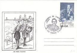 FRANCIA FRANCE 1984 JOURNEE DU TIMBRE - Cartas