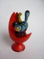 FIGURINE INSPECTEUR GADGET - QUICK - 2003 MAS CHAT SUR SIEGE EJECTABLE - Figurillas