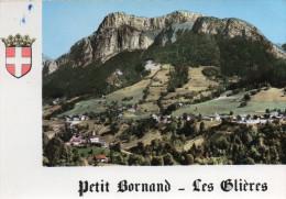 - CPSM - 74 - PETIT-BORNAND - Vue Générale Et Rochers De Leschaux - 074 - France