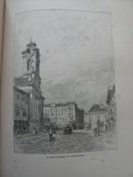 Hungary  Romania -Temesvár  - Szent-György Tér        Ca 1891 Print 2.OM7.515 - Estampes & Gravures