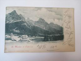 AK Österreich / Italien 1899 St. Martino Di Castrozza Echt Gelaufen! Deposito Presso Sebastiano Gadenz, Primiero - Bolzano (Bozen)