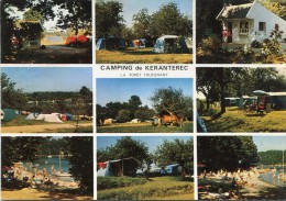 CPSM 29 CAMPING DE KERANTEREC LA FORET FOUESNANT Grand Format 15 X 10,5 - Autres Communes