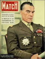 Paris Match N°272 - Le 10 ème Anniversaire Du Débarquement, à L'ordre De Dien Bien Phu - 12 Juin 1954 - Informations Générales