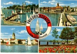 ALLEMAGNE--FRIEDRI HSHAFEN--AM BODENSEE--multivues--voir 2 Scans - Friedrichshafen