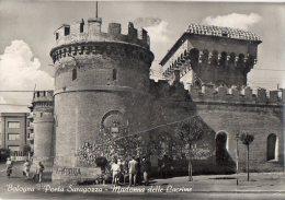 BOLOGNA 1955 - PORTA SARAGOZZA - MADONNA DELLE LACRIME - ANNULLO A TARGHETTA - C429 - Bologna