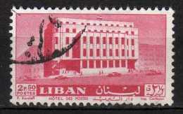 LIBAN - 1961 YT 185 USED - Liban