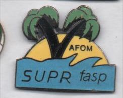 Superbe Pin´s En EGF , AFOM , Supr Fasp , Palmier - Non Classificati
