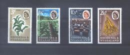 Rhodésie 44/47 **  (MNH) - Rhodesia & Nyasaland (1954-1963)