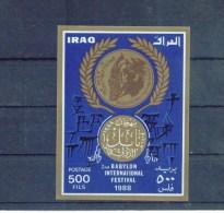 IRAK , IRAQ , ** , MNH , Postfrisch , Mi.Nr. Block  61 - Iraq