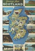MAP - NPO DEXTER - SCOTLAND S1281 6923C - Maps